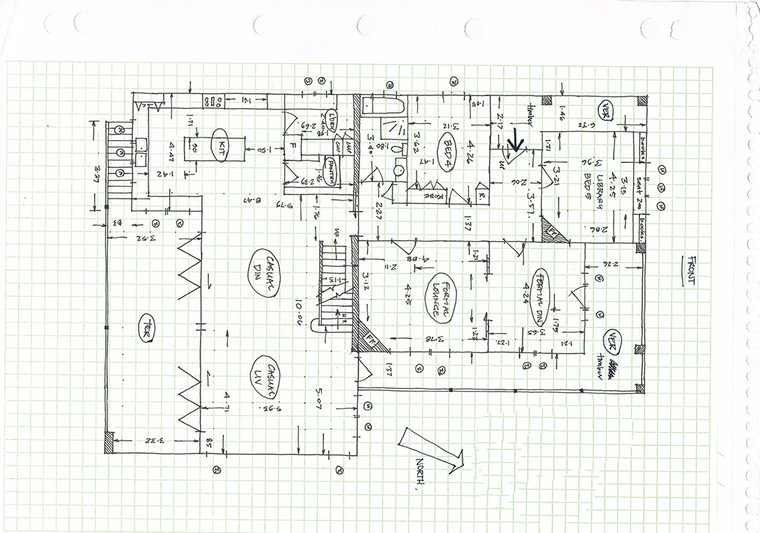 Before-Black and White Floor Plan