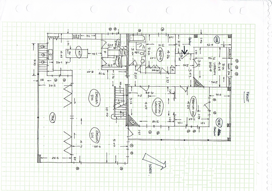 Before-Colored Floor Plan