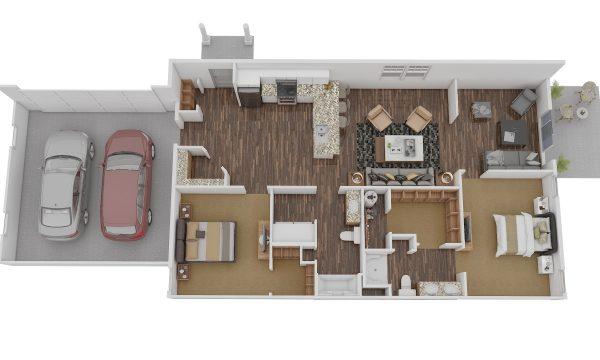 2D & 3D Floor Plan
